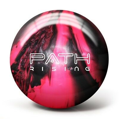 (5kg, Black/Hot Pink) - Pyramid Path Rising Pearl Bowling Ball. Delivery is Free
