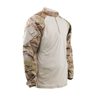 (XX-Large, Multicam/Arid) - TRU-SPEC Combat Shirt. Delivery is Free