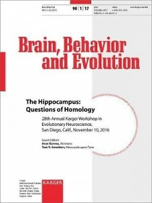 The Hippocampus: Questions of Homology: 28th Annual Karger Workshop in