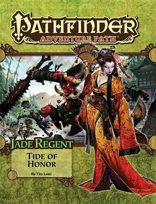 PATHFINDER ADVENTURE PATH: JADE REGENT PART 5 - TIDE OF HONOR By Tito Leati *VG*
