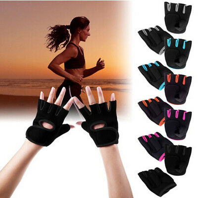 Unisex Women Men Weight Lifting Fitness Gym Exercise Training Sport Glove New