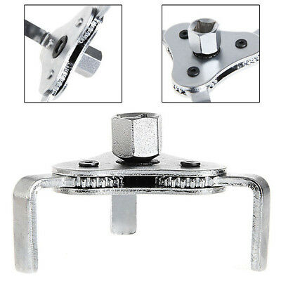 Universal Car Tool 3 Jaws 2 Ways Oil Filter Wrench Spanner Remover Adjustable