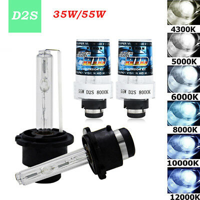 2PCS 55W  D2S D2R D2C OEM 12000K HID Xenon Headlight Bulbs Lamps Replacement