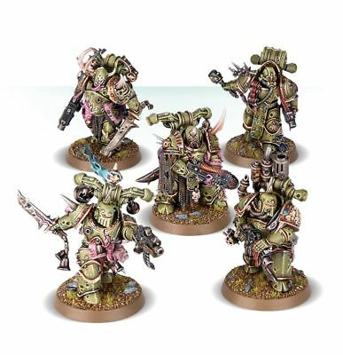 FREE POSTAGE! Deathguard Plague Marines, Chaos Space, New on Sprew Warhammer 40k