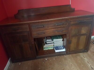 solid oak sideboard good condition for it's age
