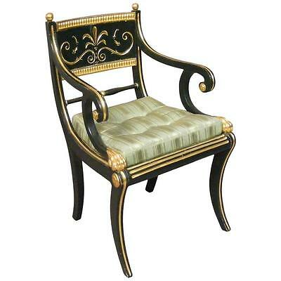 Antique Regency Armchair Signed by Cohen of London 1808-1828