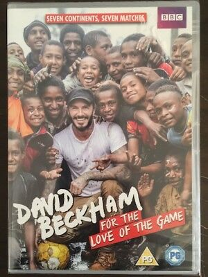 David Beckham - For The Love Of The Game DVD - Joblot x 25 New and Sealed