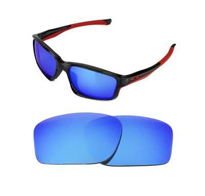 c8a2a9ef98 New Polarized Replacement Ice Blue Lens For Oakley Chainlink Sunglasses