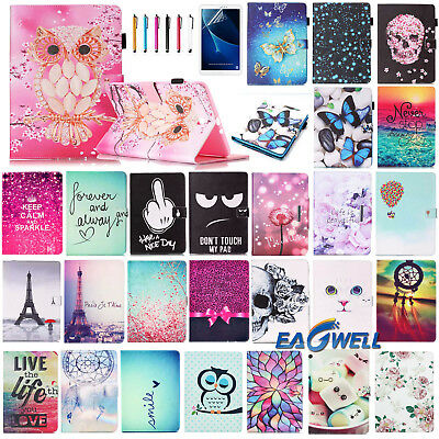"For Samsung Galaxy Tab A A6 7'' 8 9.7 10.1"" Tablet PU Leather Skin Case Cover"