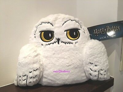 new Primark HARRY POTTER HEDWIG WHITE OWL Cushion
