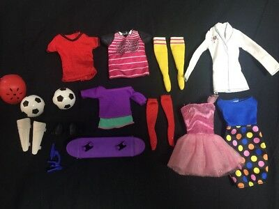 Barbie Mixed Clothing Accessories Pack