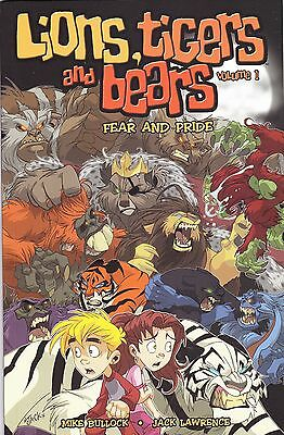 Lions, Tigers and Bears Volume 1 GN - Fear and Pride (Mike Bullock)