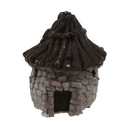 UPPERX Mini DIY dollhouse miniatures cottage terrarium fairy garden gnome m X6W7