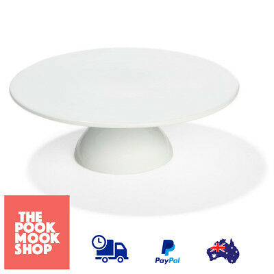 Super White Cake Stand Centrepiece Events Porcelain Round Stand, Holder, Display