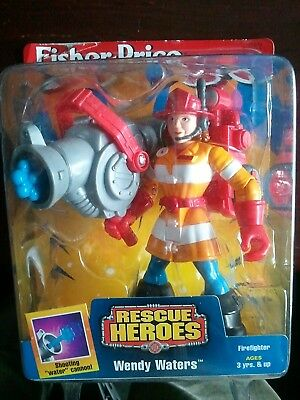 Rescue Heroes: Wendy Waters. Fisher-Price. Brand New