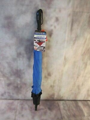 "BETTER BRELLA Wind-Proof Reverse Open Upside Down 41.5"" wide Umbrella Blue"