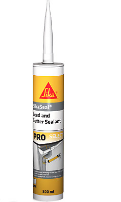 24 X SIKA LEAD AND GUTTER SEALANT GREY 300ml