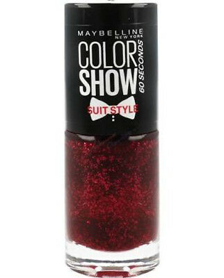 Maybelline Nail Polish   Color Show Suit Style   Assorted Colours   7ml