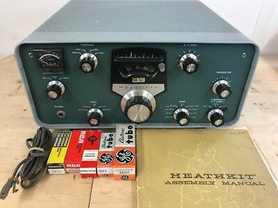 Heathkit Sb-301 Receiver + Manual - Working !