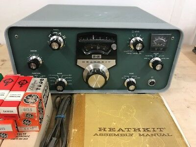 Heathkit Sb-401 Transmitter + Manual - Working!