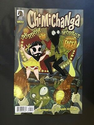 Chimichanga Sorrow of the World's Worst Face #4 NM- 1st Print Dark Horse Comics