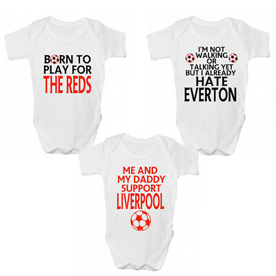 Funny Liverpool FC Baby Grow / Sleepsuit - Funny Liverpool Babies Clothing