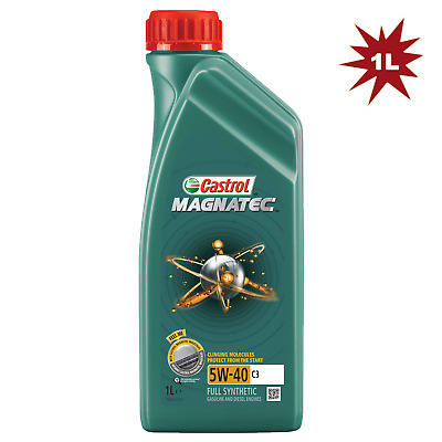 Castrol Magnatec 5w40 C3 Car Engine Motor Oil - 1 Litre 1L