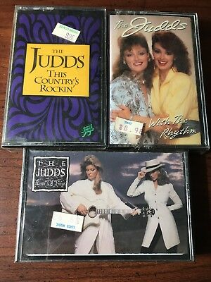 The Judds - Lot Of 3 Cassettes - All New - See Pics For Titles
