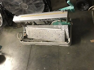 Imer Combi 250VA Wet Tile Saw
