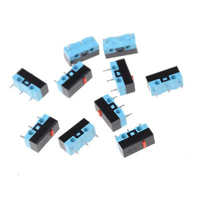 10X Button Switch 3Pin Mouse Switch Microswitch For RAZER Logitech G700 Mouse eC