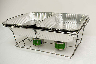 Disposable Chafing Dish Sets Food Pan Catering Food Parties Events Bbq