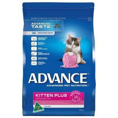Advance Kitten Plus Chicken 3kg cat food