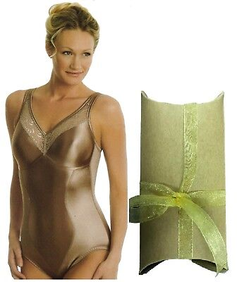 Easter Gift wrapped satin smooth sexy nude non wired Swegmark body shaper