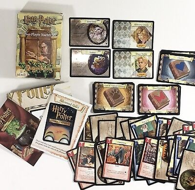 Harry Potter Trading Card Game DIAGON ALLEY Starter X93 Map Shiny Draco etc.
