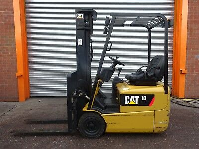 3W Cat Ep10Krt. Used Electric Forklift Truck. (#2143)