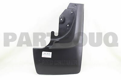 7660760170 Genuine Toyota MUDGUARD SUB-ASSY, QUARTER PANEL, REAR RH 76607-60170
