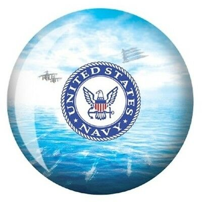 (6.4kg) - US Navy Bowling Ball. Brunswick Bowling Products. Free Delivery