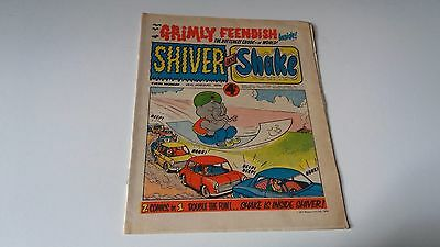 shiver and shake comic issue 47 26TH JANUARY 1974