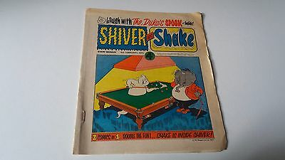 shiver and shake comic issue 49 9TH FEBUARY 1974