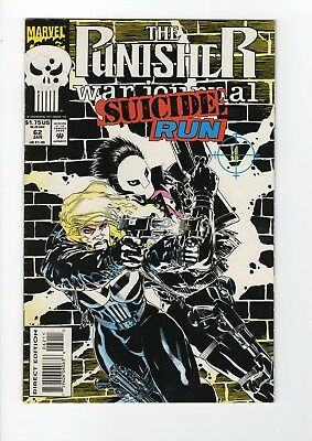 Marvel The Punisher Suicide Run #62 1994