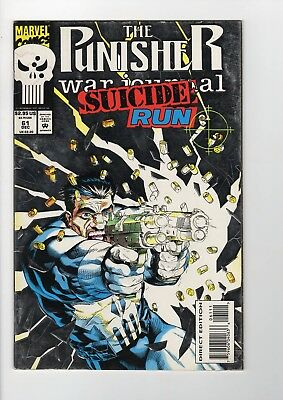 Marvel The Punisher Suicide Run #61 1993