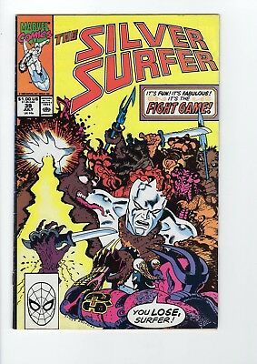 Marvel The Silver Surfer #39 1990