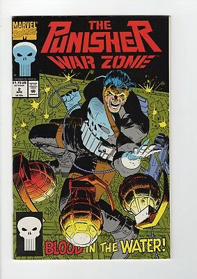 Marvel The Punisher War Zone #2 1992