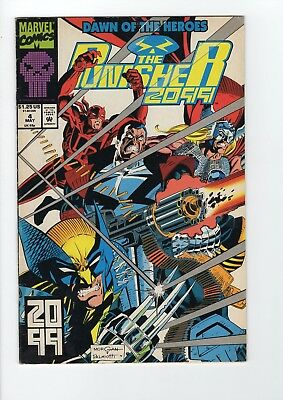 Marvel The Punisher 2099 #4 1993