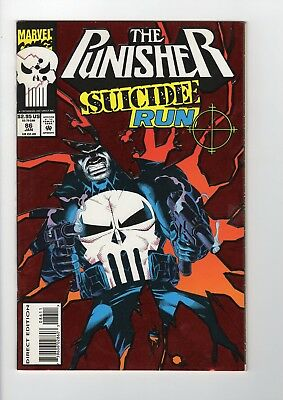 Marvel The Punisher Suicide Run #86 1994