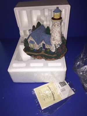 Hawthorne Village Thomas Kinkade SEASIDE LIGHTHOUSE Seaside Accessory 79640 N