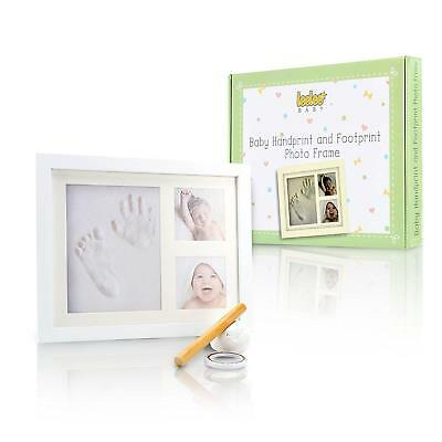 Baby Handprint & Footprint Picture Frame Kit by LeeLee - Cute Photos