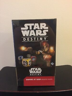 Star Wars DESTINY Empire at War  Booster Box  36 Packs New and Factory Sealed!