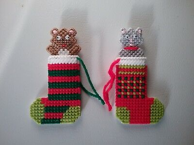"""christmas Stocking Ornaments"" (New)"