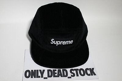 7baf61090e5fef spain 5 panel supreme waffle corduroy black cap hat caps snapback camp red  white teal 7c29e